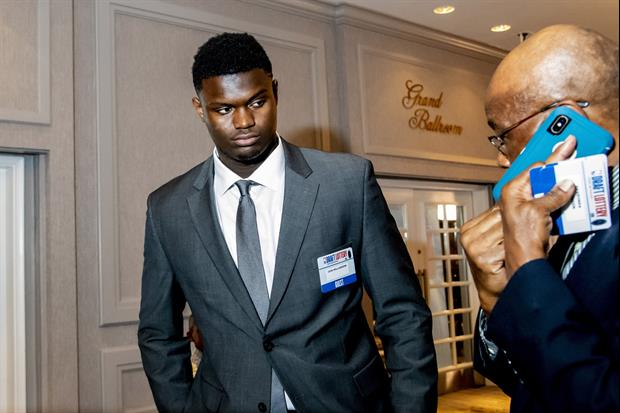 Sources Say Zion Williamson's First Meeting With The Pelicans Was Positive