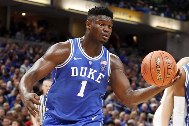 Here Was Video Of Zion Williamson's Reaction When The #1 Pick Was Revealed