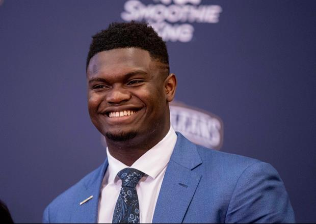 Zion Williamson Has Announced What Show Brand He Has Signed With And It's...Jumpman