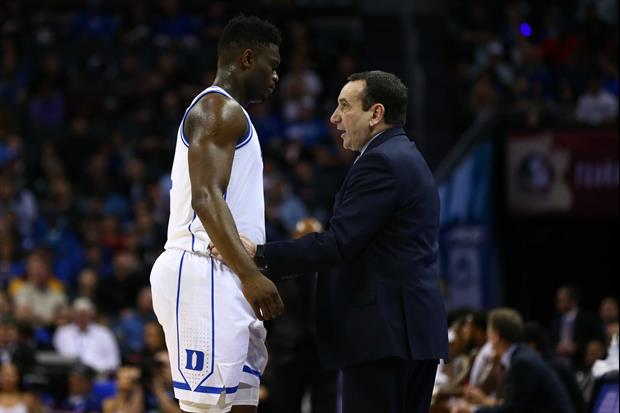 Analyst Thinks Pelicans Should Hire Coach K To 'Save' Relationship With Zion Williamson
